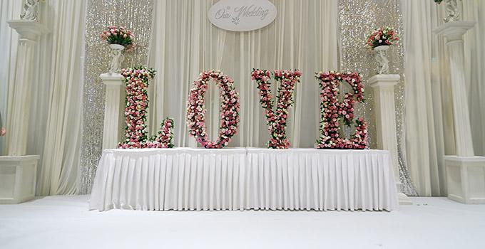 déco mariage avec des fleurs