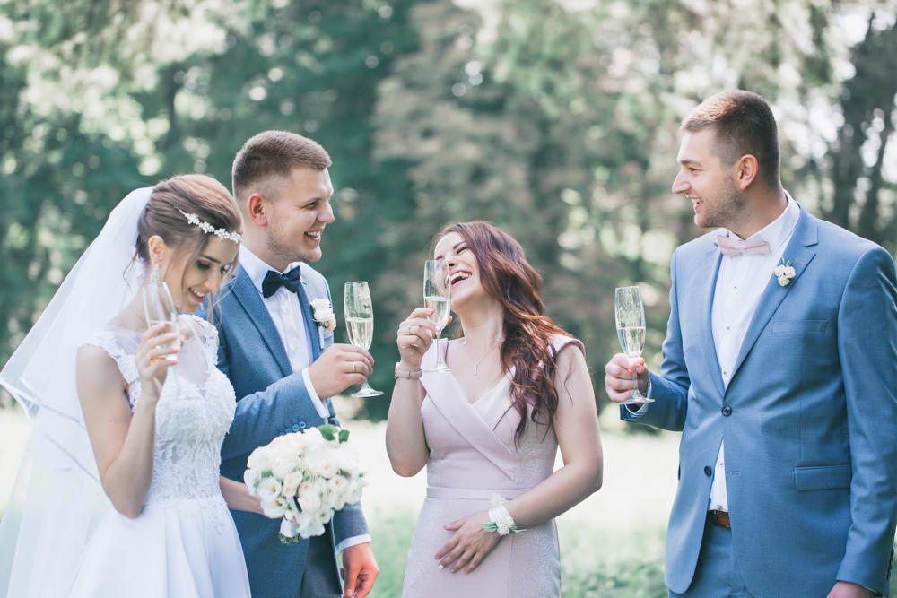 vin d'honneur d'un mariage