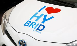 Petite voiture hybride